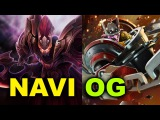 Team NAVI vs Team OG - Dreamleague 5 Dota 2