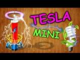 Как сделать мини катушку Тесла своими руками / How to make a mini Tesla coil