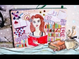 Идеи для личного дневника Уютная зима Веду ежедневник DIY своими руками Уничтожь меня Скетчбук ЛД