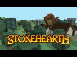 STONEHEARTH | Let's Play | СМОТР ИГРЫ #1 (60FPS)
