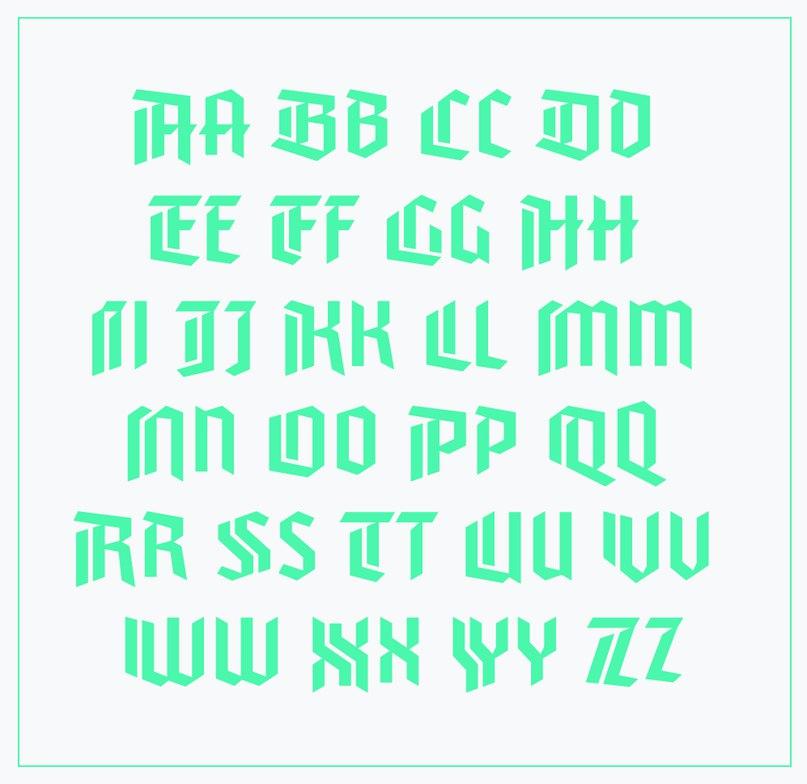 шрифт Varna