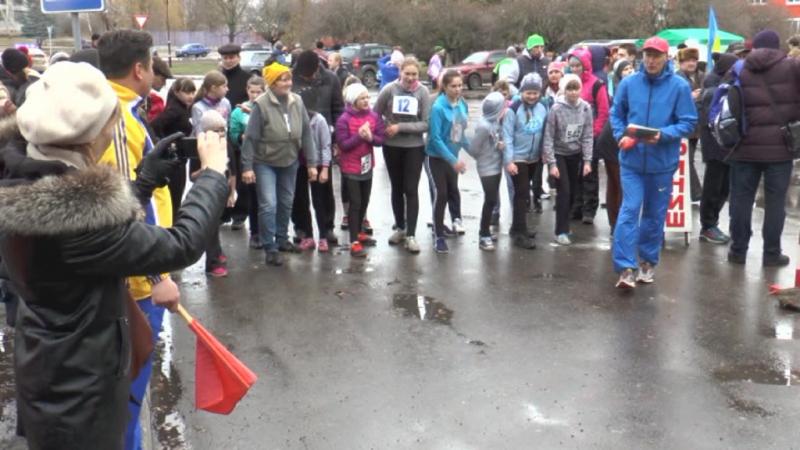 Бахмацьке свято бігу Вареничний забіг у 2016 частина 2
