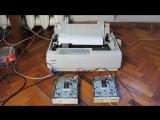Undertale - Metal Crusher на матричном принтере и паре флоппи-драйвов