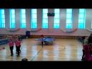 черлидеры открывают соревнования по настольному тенису в Конаково