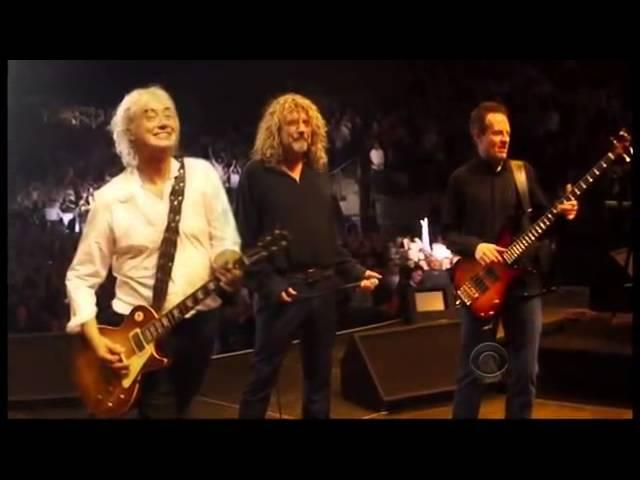 Led Zeppelin Kennedy Center Honors 12 26 12 (Lenny Kravitz Heart)