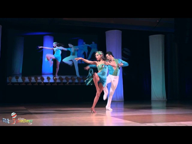 David Zepeda Paulina Posadas - on2 finals 1st place - World Latin Dance Cup 2011