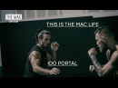 Conor McGregor and Ido Portal working on balance and footwork before UFC 202 TheMacLife
