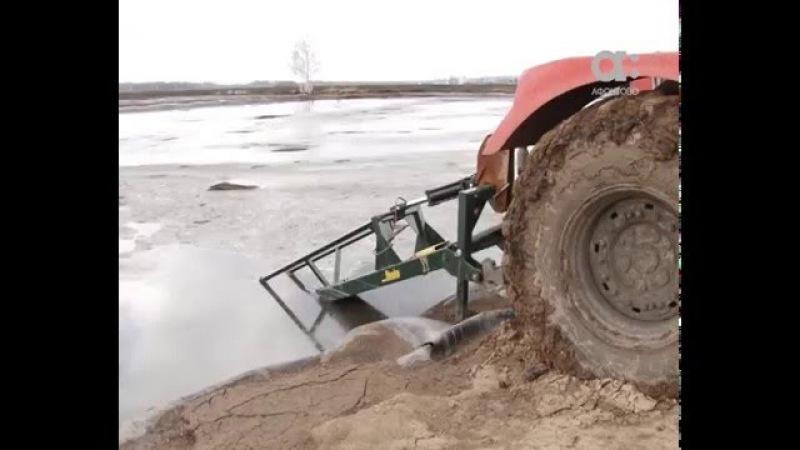 Свинокомплекс Красноярский сливает отходы в Большой Мурте нелегально