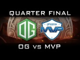 OG vs MVP Quarter Final The International 2016 TI6 Highlights Dota 2