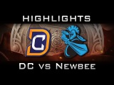 DC vs Newbee The International 2016 TI6 Highlights Dota 2