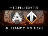 Alliance vs Escape [EPIC] The International 2016 TI6 Highlights Dota 2