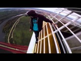 'Spider Man kids' scale Spain's 'highest bridge' without ropes