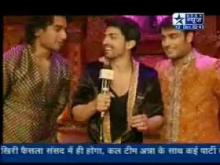 SBS - Gurmeet, Vivaan & Nishanth's Masti at Vampire's Wedding (PKYEK) - 12th December 2011