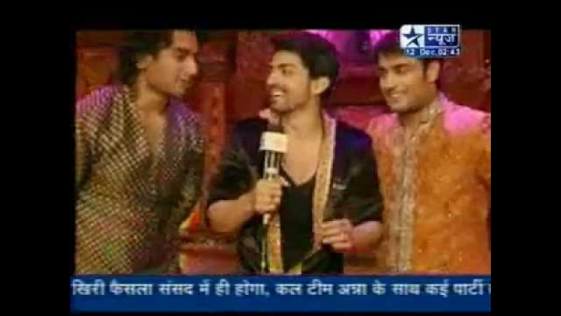 SBS - Gurmeet, Vivaan Nishanth's Masti at Vampire's Wedding (PKYEK) - 12th December 2011