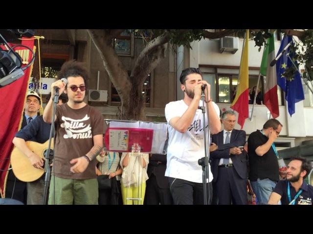 Il Rimpianto di Te Giò Sada feat Davide Shorty @PalermoChiamaItalia