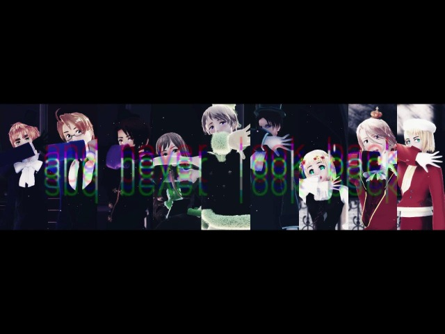 Hetalia / APH MMD - ECHO(Spades, Diamonds Clubs)