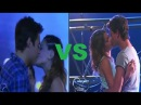 Beso de Diego y Violetta vs Beso de Leon y Violetta