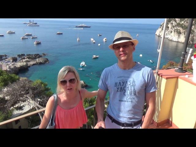 Италия остров Капри и Сорренто: обзор Марина Пиккола и отелей Сорренто- часть 11 ...