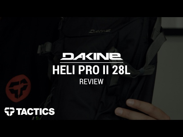 DAKINE Heli Pro II 28L Snowboard Backpack Review - Tactics.com