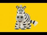 Пазлы. говорящая азбука. Учим животных. Развивающие мультики для детей