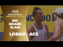 The amazing ace against Brazil by Losiak - Rio Grand Slam
