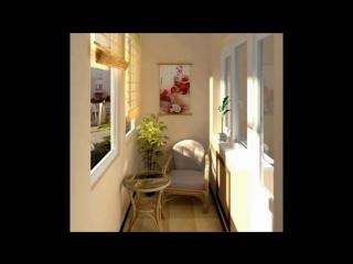Идеи интерьеров для балконов и лоджий