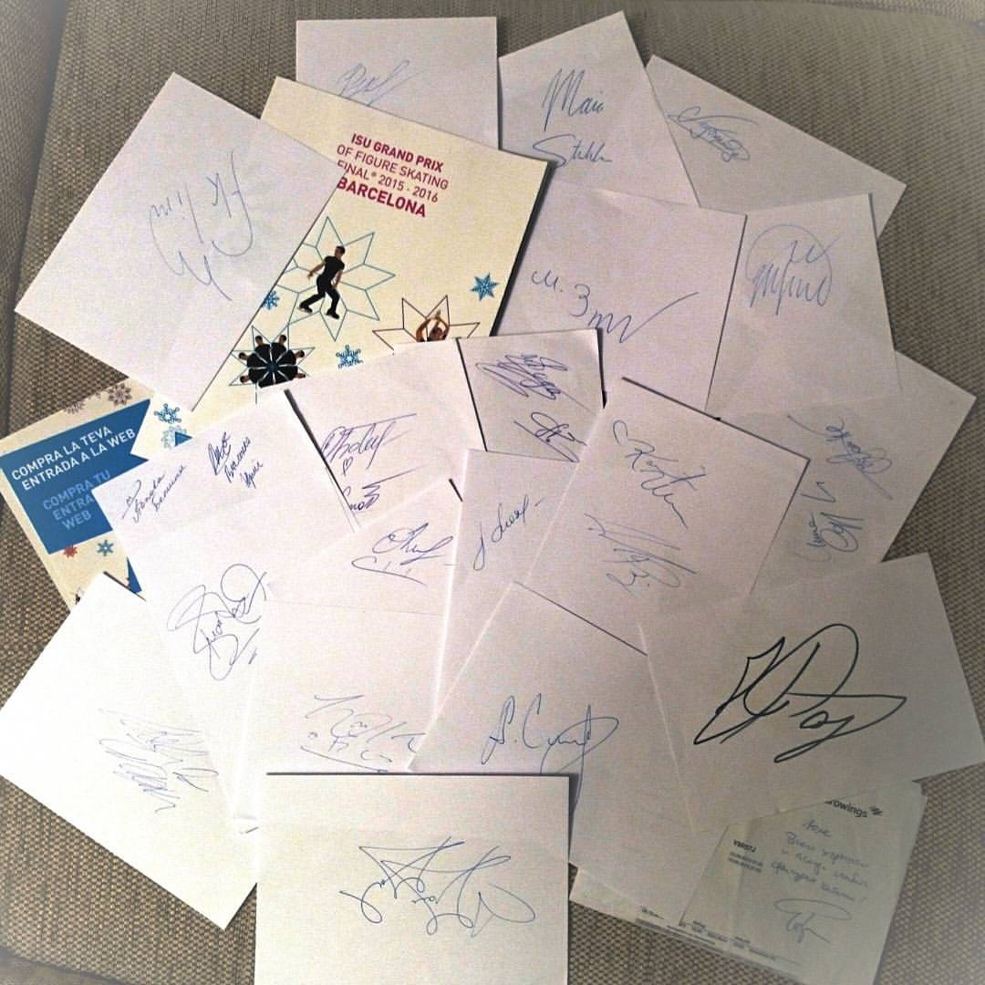 Коллекция автографов LRqxiRElM6A