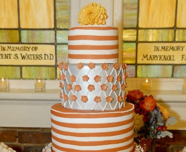 28RgFTC Mrg - «Металлические» свадебные торты 2016 (75 фото)