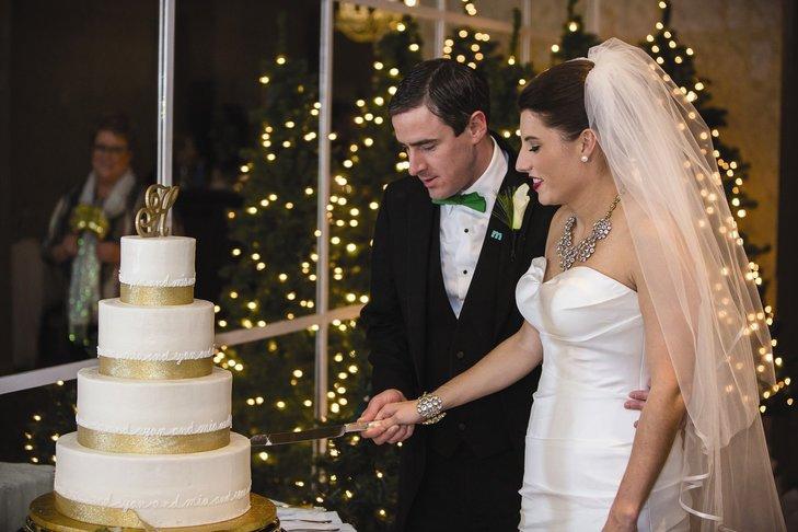 ZmJ 54JtQ9w - «Металлические» свадебные торты 2016 (75 фото)