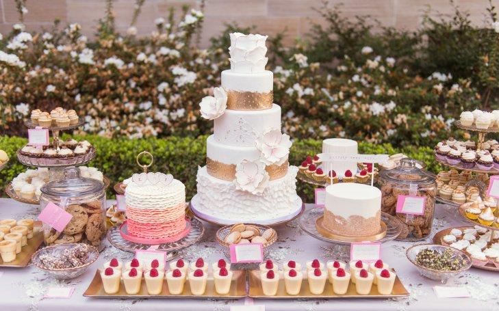 YsARVWn3vAQ - «Металлические» свадебные торты 2016 (75 фото)