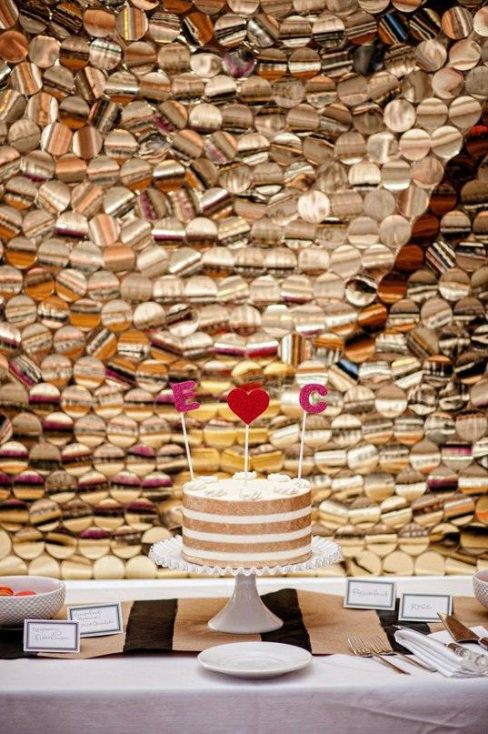 yKd2ioCKb8c - «Металлические» свадебные торты 2016 (75 фото)