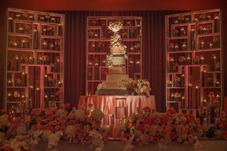 QzRLpGQrPlo - «Металлические» свадебные торты 2016 (75 фото)