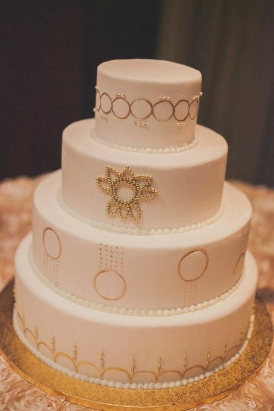 jQHMKaUq12I - «Металлические» свадебные торты 2016 (75 фото)