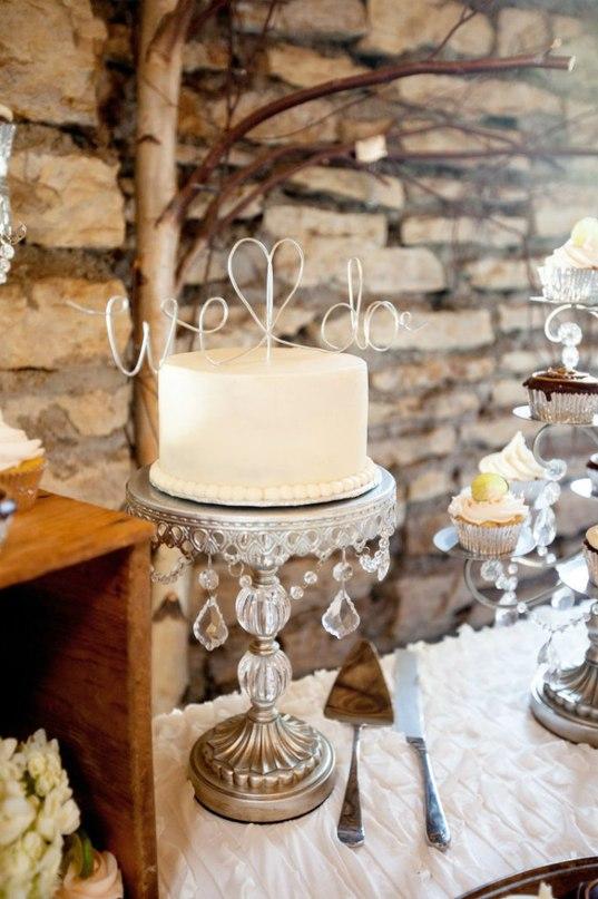 NEMe93AWRII - «Металлические» свадебные торты 2016 (75 фото)