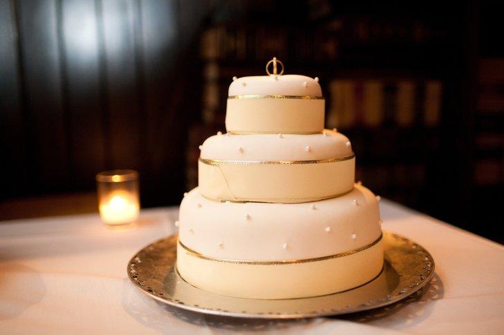 34te4MVI0gA - «Металлические» свадебные торты 2016 (75 фото)