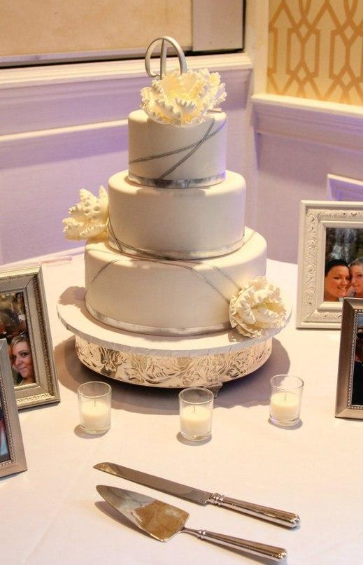 LM3cWeY53Bw - «Металлические» свадебные торты 2016 (75 фото)