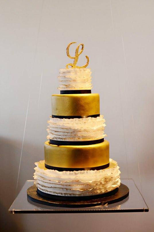 frehcDfVGQY - «Металлические» свадебные торты 2016 (75 фото)