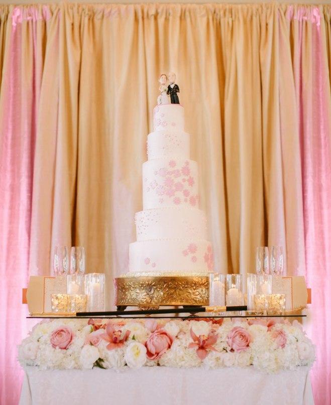 6jhij3dxbHs - «Металлические» свадебные торты 2016 (75 фото)