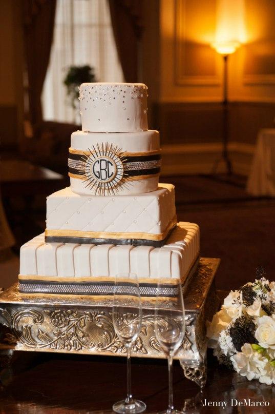 lfWhXXpg f0 - «Металлические» свадебные торты 2016 (75 фото)