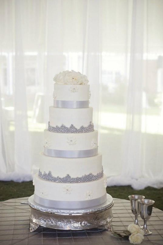 BQwaS  XXVo - «Металлические» свадебные торты 2016 (75 фото)