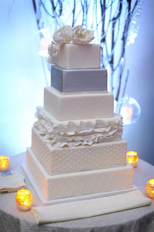 KUxrPKuwfgE - «Металлические» свадебные торты 2016 (75 фото)