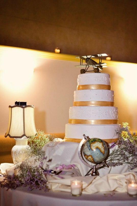 Xlrgbhxp44I - «Металлические» свадебные торты 2016 (75 фото)