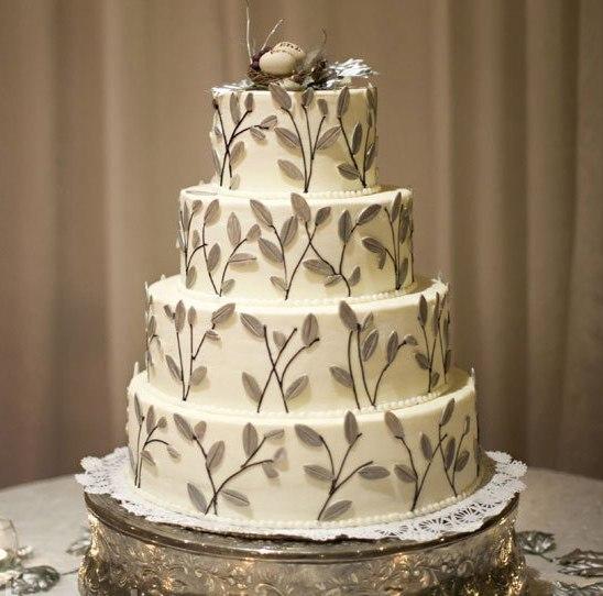 DFSOsdg8zKQ - «Металлические» свадебные торты 2016 (75 фото)