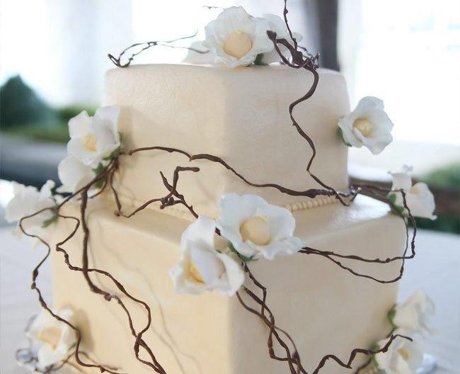 AkgZEp inSU - «Металлические» свадебные торты 2016 (75 фото)