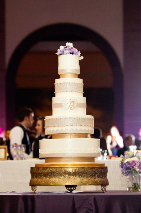 ylMR vJSKDA - «Металлические» свадебные торты 2016 (75 фото)