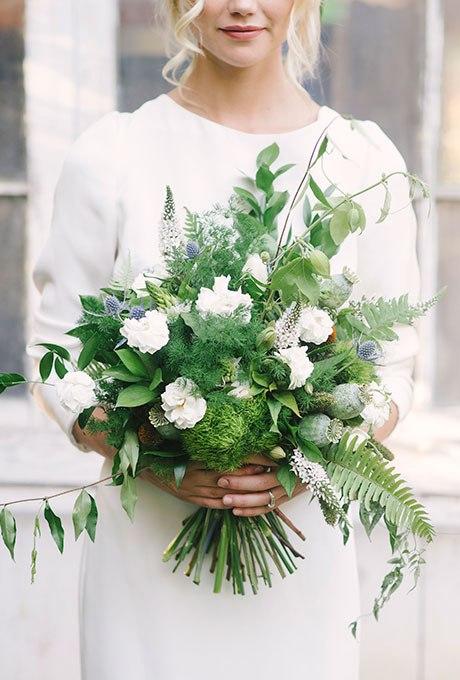 dWzBQ9AZZoo - Голубые свадебные букеты (19 фото)