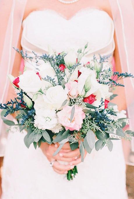 HUXMmNZfPhQ - Голубые свадебные букеты (19 фото)