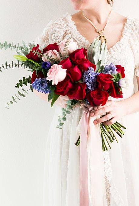 23tkoEzCTE - Голубые свадебные букеты (19 фото)