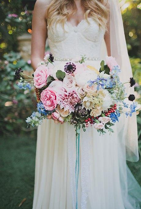 RjElIA2Gv2g - Голубые свадебные букеты (19 фото)