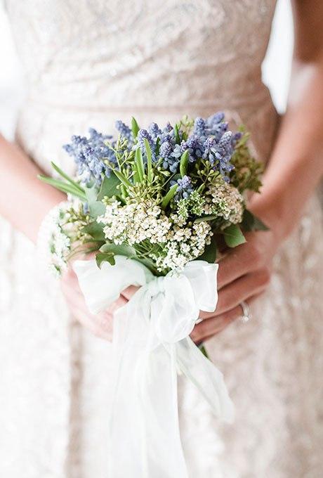 ByBMuNghdkQ - Голубые свадебные букеты (19 фото)